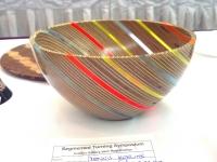 Plywood/Plexiglass Bowl by Dennis Keeling