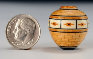 Minature Vessel by Curt Theobald
