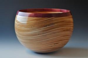 Wavy Plywood Bowl by John Beaver