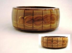 Caterpillar Walnut Bowl