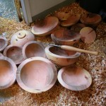 rough turned bowls
