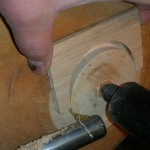 re-turning the tenon