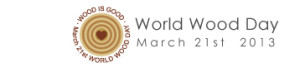 world wood day logo