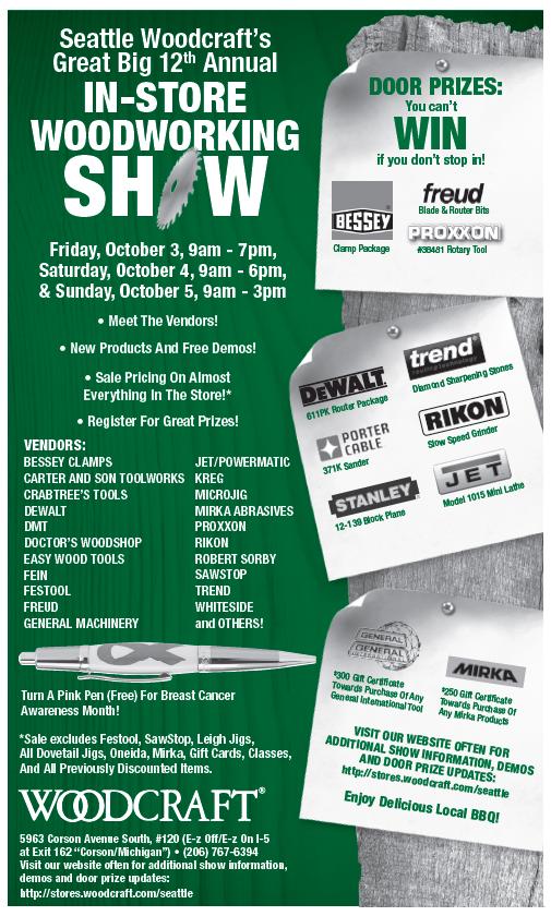 2014 Woodcraft Show