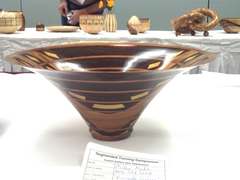 Bowl From a Board by Michael Mode