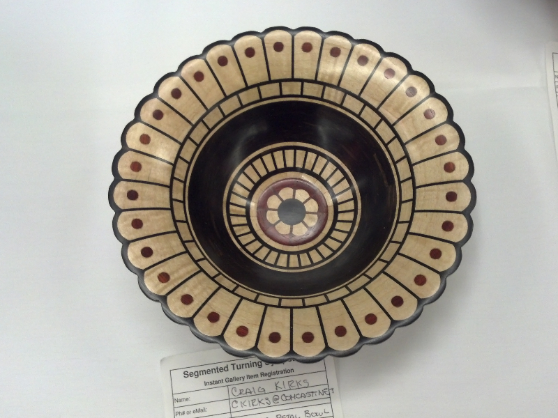 Petal Bowl by Craig Kirks